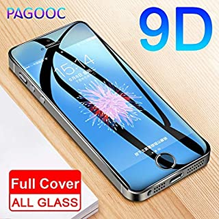 VINTO-Phone Screen Protectors - 9D Protective Glass On The For iPhone 5S 5 5C SE Tempered Screen Protector Safety Glass Fo...