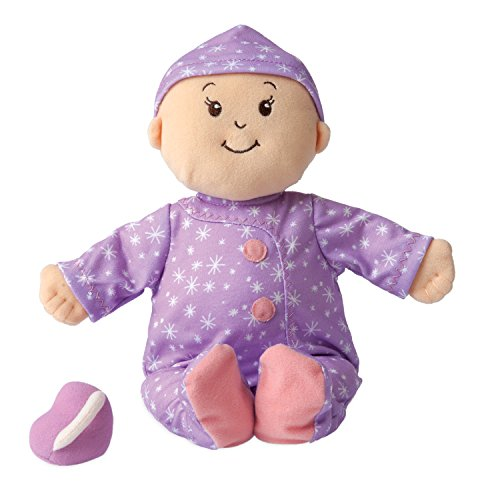 Manhattan Toy Baby Stella Sweet Dreams Soft First Baby Doll for Ages 1 Year and Up, 15'