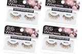 Ardell False Eyelashes Wispies Brown, 4 pairs