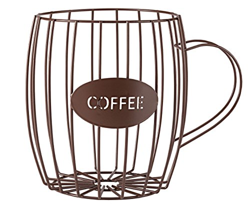 Coffee Cup Wire Basket