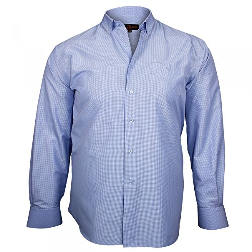 Chemise Sport Checked Bleu - Taille 45/46_2XL