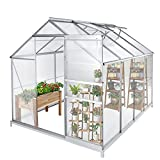 Green House for Plants Outdoor, 6 x 8 x 7 FT...