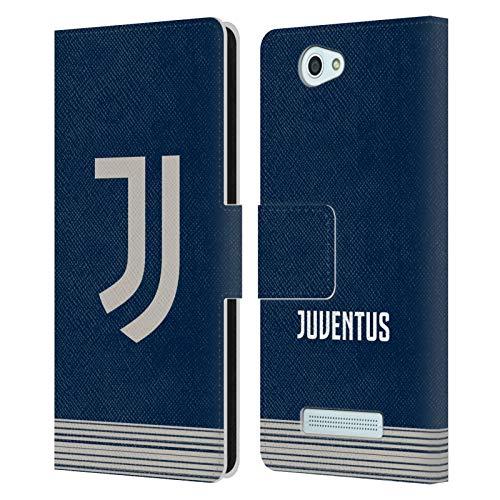 Head Hülle Designs Offizielle Juventus Football Club Away 2020/21 Match Kit Leder Brieftaschen Huelle kompatibel mit Wileyfox Spark/Plus