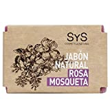 Laboratorio Sys Jabón Natural Rosa Mosqueta, 100 gr.