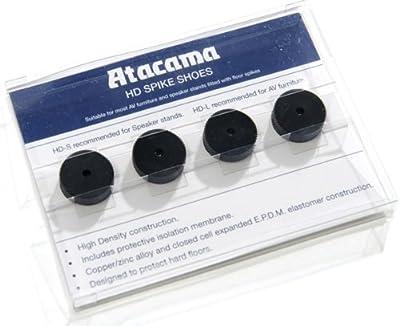 ATACAMA HD-S Floor Spike Shoes, Black (Set of 4) by ATACAMA