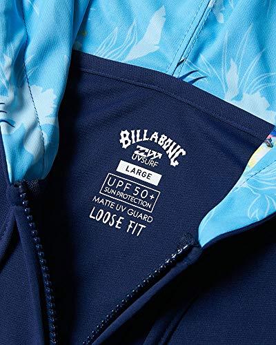 BILLABONG(ビラボン)SURFCAPSULEメンズUNITYLOGOZIPラッシュガードサイズ:Mカラー:DBL[BA011854]