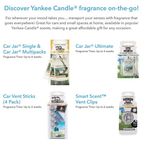 Yankee Candle 1295841E Deodoranti per Auto, Car Vaso Ultimate, Black Coconut