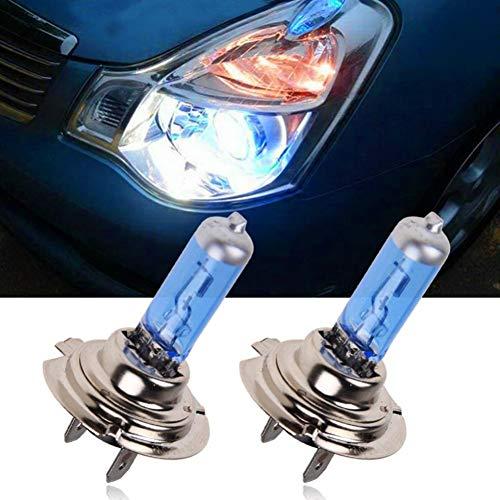 2 Piezas H7 6000K Faro Halógeno De Gas De Xenón Bombillas De Lámpara De Luz Blanca 55W 12V Lámparas Delanteras Para Automóvil