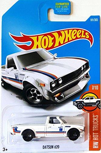 Hot Wheels 2017 HW Hot Trucks Datsun 620 181/365, White