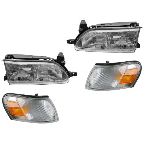For Toyota Corolla 93 94 95 96 97 Head And Corner Light W Bulb 4 Combination