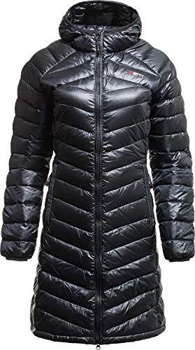 YETI Pearth W's Down Coat Damen Daunenmantel Mantel, Black, Größe XS