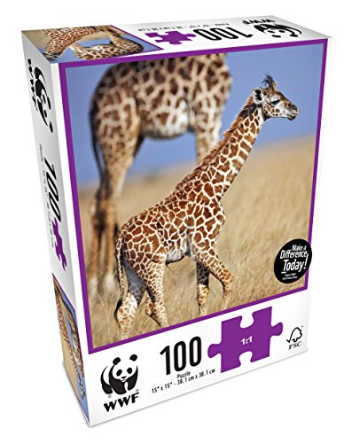 WWF   Jirafas, Puzzle de 100 Piezas (Neo WWF103)