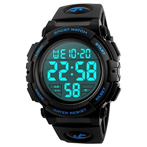 Reloj deportivo digital para hombre, para uso al aire libre