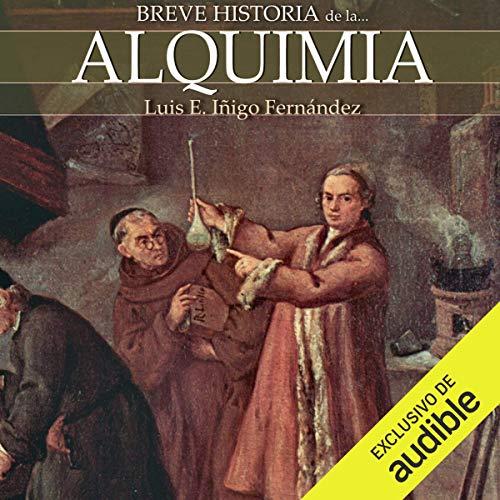 Diseño de la portada del título Breve historia de la alquimia