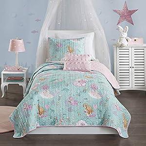 51QuQRPocaL._SS300_ Mermaid Bedding Sets & Comforter Sets