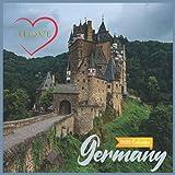 Ilove Germany Calendar 2022: Official Germany 2022 Calendar, (12 Months) ,Europe Calendar 2022 ,Square 2022 Calendar