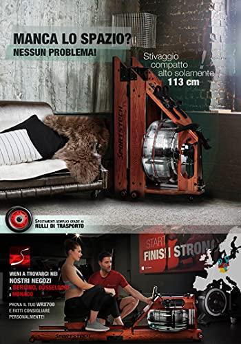 Sportstech WRX700 Wasser Rudergerät - 6