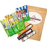 Caja de selección de chocolate vegano | Barras de chocolate Vivani sin Moo | 11 barras sin leche sin lácteos | Cesta de regalo de chocolate