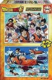 Educa Borrás-2X100 2 100 piezas, puzzle infantil Dragon Ball, color variado, (18214)...