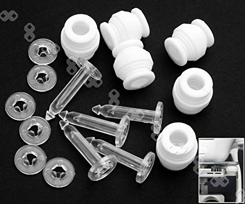 Kamera Gimbal Shock Absorption Dämpfung Gummibälle & Anti-Drop Pins Kit für DJI Phantom 3