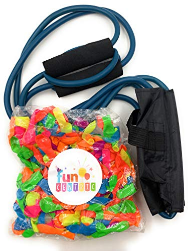 Water Balloon Launcher, Water Balloon Slingshot, T-Shirt Launcher, 3 Person Extreme Distance Launcher, 300 Yards