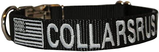 personalized tactical dog collar
