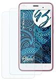 Bruni Schutzfolie kompatibel mit Wiko Jerry Folie, glasklare Bildschirmschutzfolie (2X)