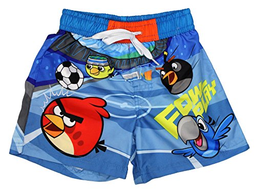 Angry Birds Official Boys Swim Shorts 3Years Blue