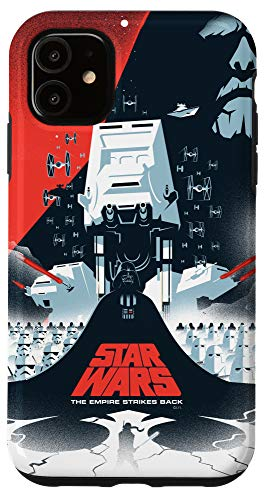 iPhone 11 Star Wars The Empire Strikes Back Illustrated Movie Poster Case