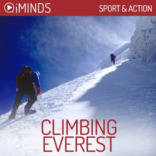 Climbing Everest audiobook cover art