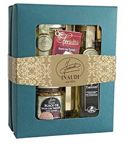 (Limited Edition) Box Regalo'Tartufo Nero', con tartufi delle Langhe in pezzi