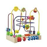 Laberinto Madera Abaco Frutas Juguete Abalorios Madera Cuentas de Maze Cube Juegos Educativos Para Niños 3 4 5 6
