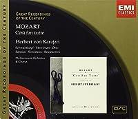 Great Recordings Of The Century - Mozart: Cosi Fan Tutte / Karajan, Schwarzkopf, Merriman, Otto, Simoneau, et al by Herbert Von Karajan (1999-09-21)
