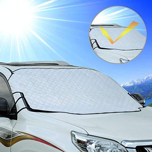 Cosyzone Car Windshield Sun Shade Sunshade Blocks UV Rays Sun Visor Protector, to Keep Your Vehicle...
