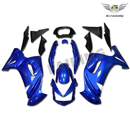 NT FAIRING Blue Fairing Fit for KAWASAKI NINJA 2006 2007 2008 650R New ABS Plastics Bodywork Body Kit Bodyframe Body Work 06 07 08