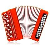 818-TEch No11200090008 Hi-Speed 2.0 clé USB 8Go instrument de musique accordéon rouge