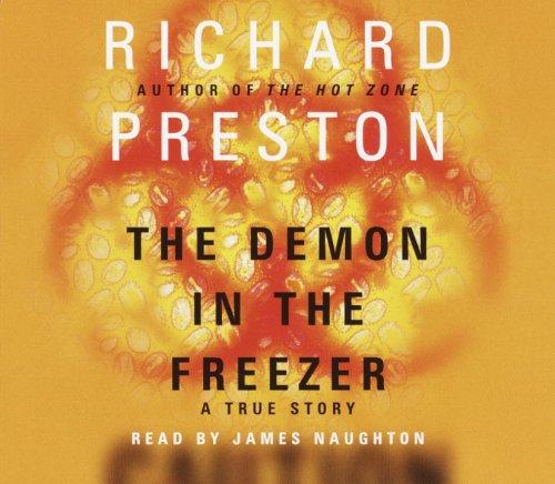 『The Demon in the Freezer』のカバーアート
