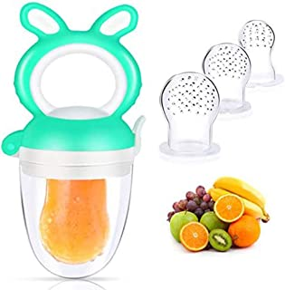 Tixiyu Fopspeen voor baby's en peuters, met 3 levensmiddelenkwaliteit, siliconen tepel voor baby's, peuters, speelgoed voo...
