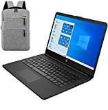 2020 HP 14 inch HD Laptop, Intel Celeron N4020 up to 2.8 GHz, 4GB DDR4, 64GB eMMC Storage, WiFi 5, Webcam, HDMI, Windows 10 S /Legendary Accessories (Google Classroom or Zoom Compatible) (Black)