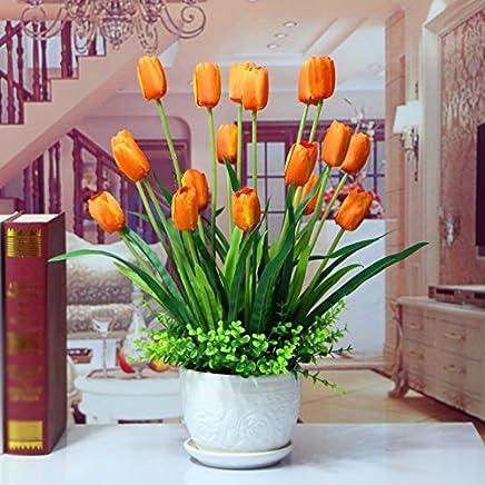 Amazones Tulipanes Artificiales 50 100 Eur Arreglos