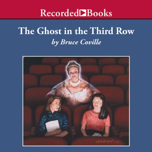 The Ghost in the Third Row audiobook cover art