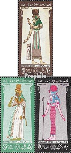 égypte mer.-no.: 873-875 (complète.Edition.) 1968 Costumes (Timbres pour Les collectionneurs)