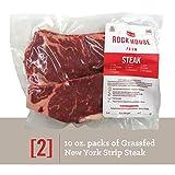 Grass-fed New York Strip Steak by Rock House Farm, (2) 10 Ounce Steaks
