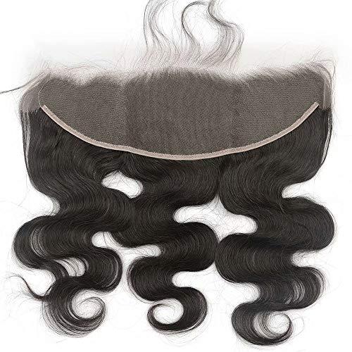 G GHAIR 13x4 HD Lace Frontal 100% Virgin Human Hair Body Wave Brazilian Hair 9A+,HD Lace Frontal 16 Inch