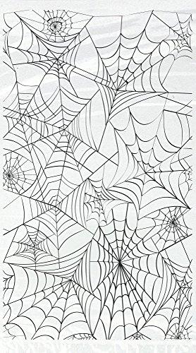 COOLMP 20 Sachets Cadeaux en Plastique Toiles d'araignées Halloween - Taille Unique - Décoration et Accessoires de fête, Animation Festive, Anniversaire, Mariage, événement, Jouet, Cotillon