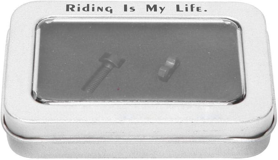 T best Bicycle Chicago Mall Screw 2Pcs Titanium Max 42% OFF Alloy M516mm TC4 Ste