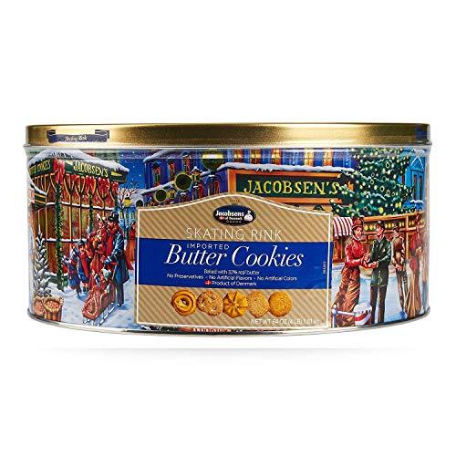 Jacobsens Danish Butter Cookies, 64 Ounce