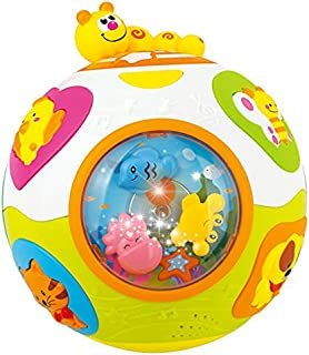 Hola Activity Ball with Music, Lights, Numbers, Shapes & Animals Toy for Baby Infant