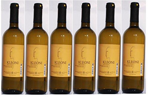 6x Kleoni Weißwein Imiglykos lieblich Lafkioti je 750ml + 2 Probier Sachets Olivenöl aus Kreta a 10 ml - griechischer weißer Wein Weißwein Griechenland Wein Set