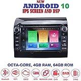 ANDROID 10 GPS DVD USB SD WI-FI Bluetooth MirrorLink autoradio navigatore Fiat Ducato/Citroen Jumper/Peugeot Boxer